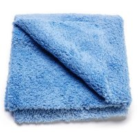 Wizard of Gloss Quick Slick Edgeless Microfiber Towel 500GSM 40x40cm