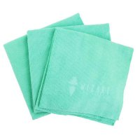 Wizard of Gloss Wipe Out Polishing Cloth 250GSM 40x40cm Set of 3