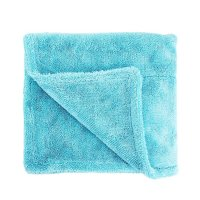 Wizard of Gloss Blue Marlin Edgeless Drying Towel 1500GSM 80x50cm