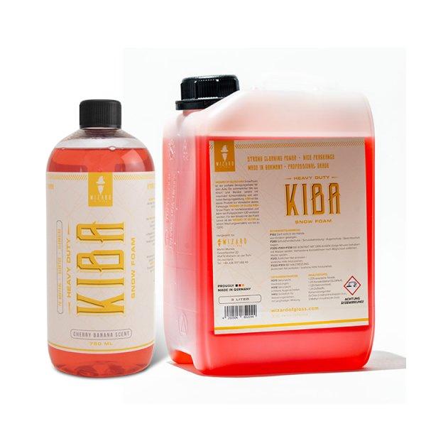 Kiba Snow Foam Shampoo - 750ml, 3L