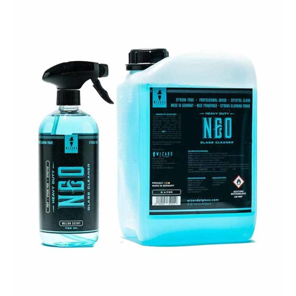 Wizard of Gloss Neo Glass Cleaner - 750ml, 3L